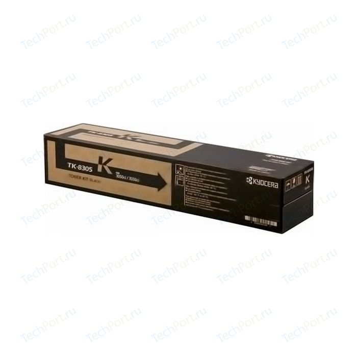 Kартридж Kyocera TK-8305K 25 000 стр. black для TASKalfa 3050ci/3550ci тонер картридж kyocera tk 5205k 18 000 стр black для taskalfa 356ci