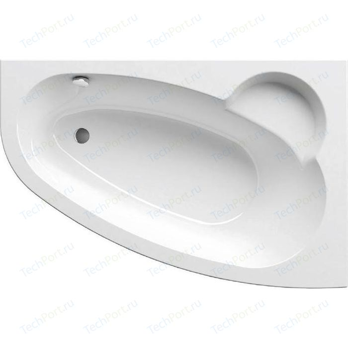 Акриловая ванна Ravak Asymmetric P 160x105 правая, без гидромассажа (C471000000)