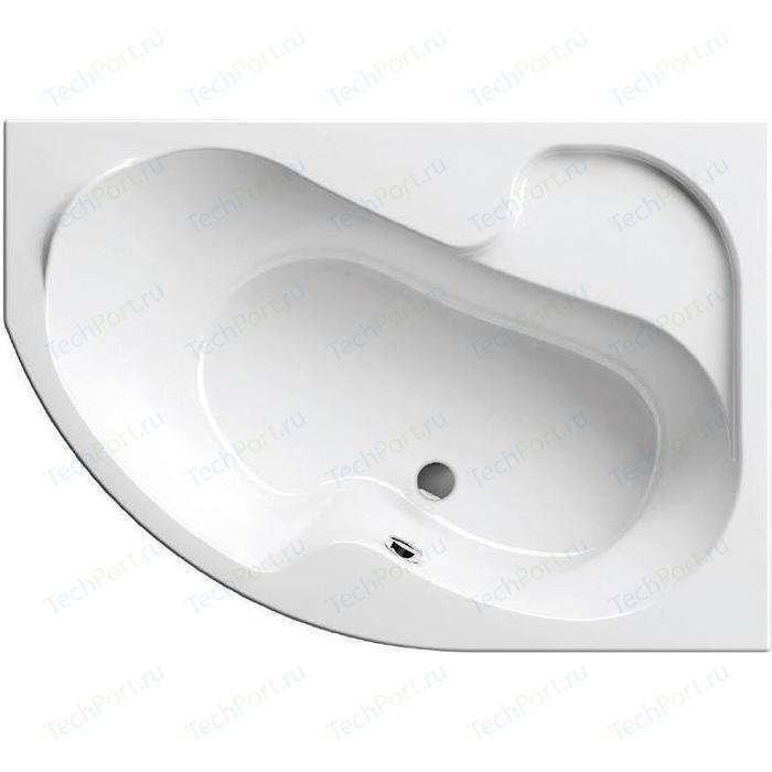 Фото - Акриловая ванна Ravak Rosa 140x105 правая, без гидромассажа (CV01000000) акриловая ванна ravak rosa 95 150x95 правая без гидромассажа c561000000