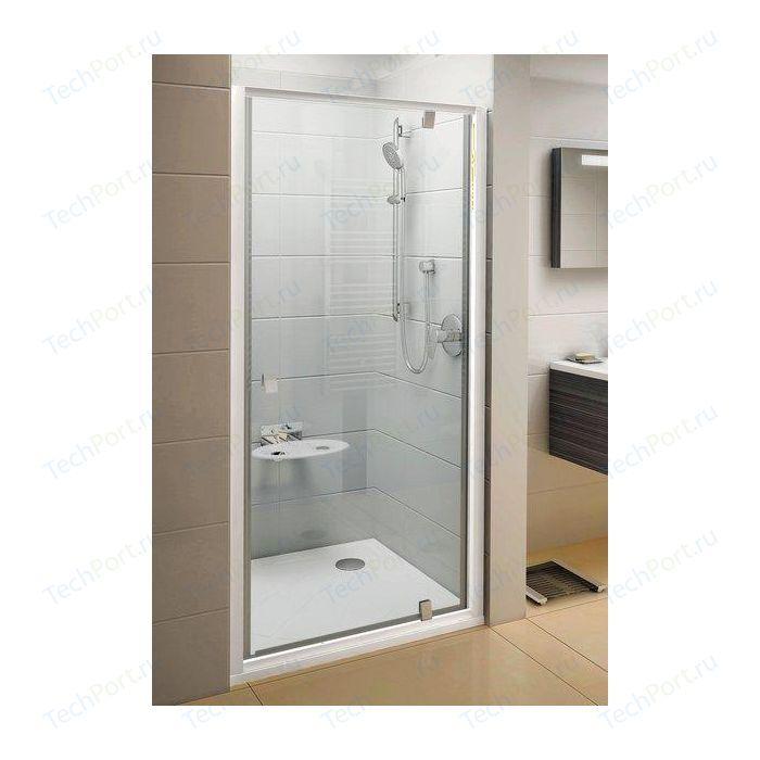 Душевая дверь Ravak Pivot PDOP1 90 прозрачная Транспарент, белый (03G70100Z1)