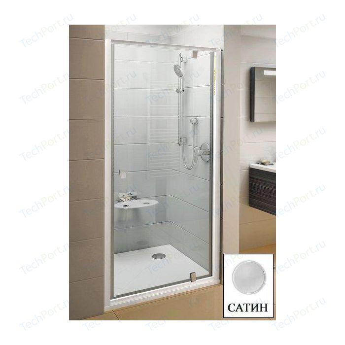Душевая дверь Ravak Pivot PDOP1 90 прозрачная Транспарент, сатин (03G70U00Z1)