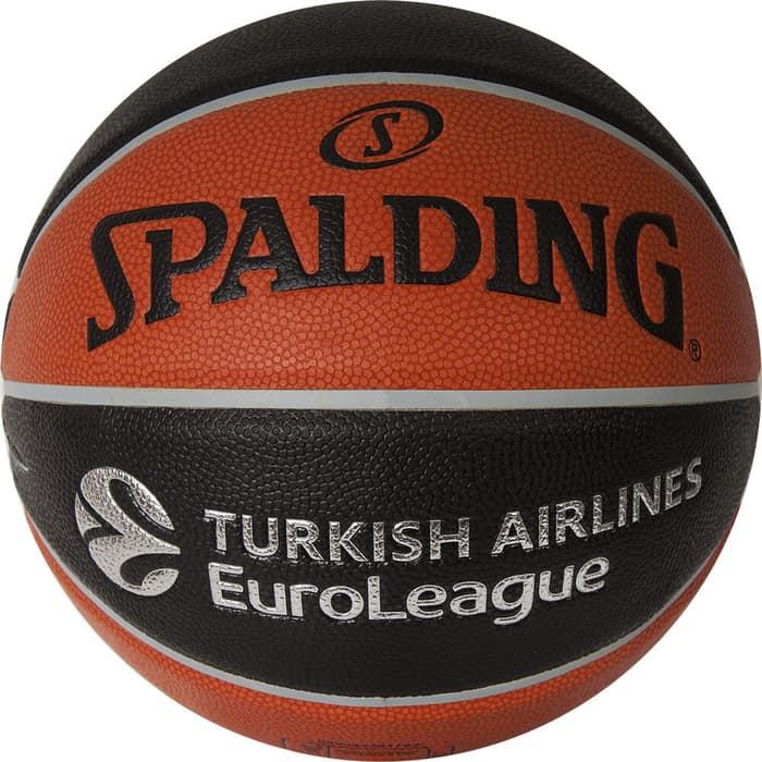 Мяч баскетбольный Spalding TF-1000 Legacy Euroleague Offical Ball р.7, (74-538z)