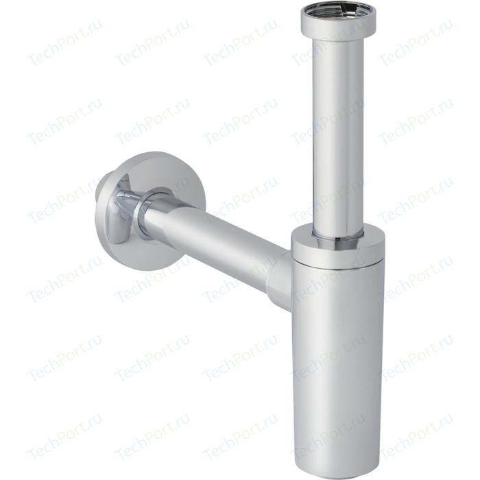 Сифон для раковины Geberit раковины, d 40 мм, пластик, хром (151.035.21.1)