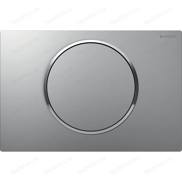 Кнопка смыва Geberit Sigma 10 матовый хром/хром (115.758.KN.5) кнопка смыва geberit sigma 20 матовый хром хром 115 882 kn 1
