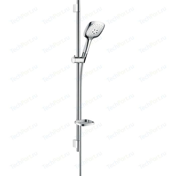 Душевой гарнитур Hansgrohe Raindance Select E 150 3 режима 90 см, с мыльницей (27857000)