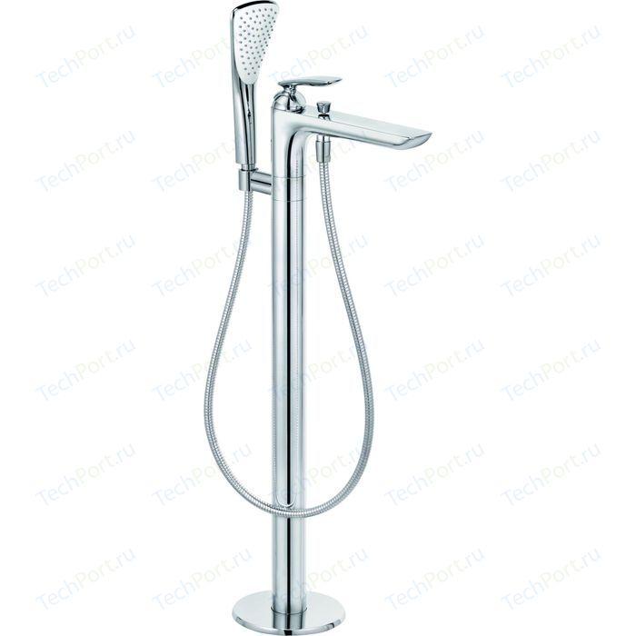 Смеситель для ванны Kludi Balance напольный, FlexxBoxx 88088, хром (525900575)