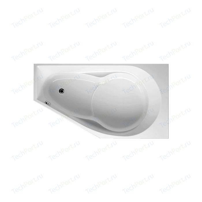 Акриловая ванна Riho Yukon 160x90 L левая, с каркасом (BA3500500000000, RAMA0109)