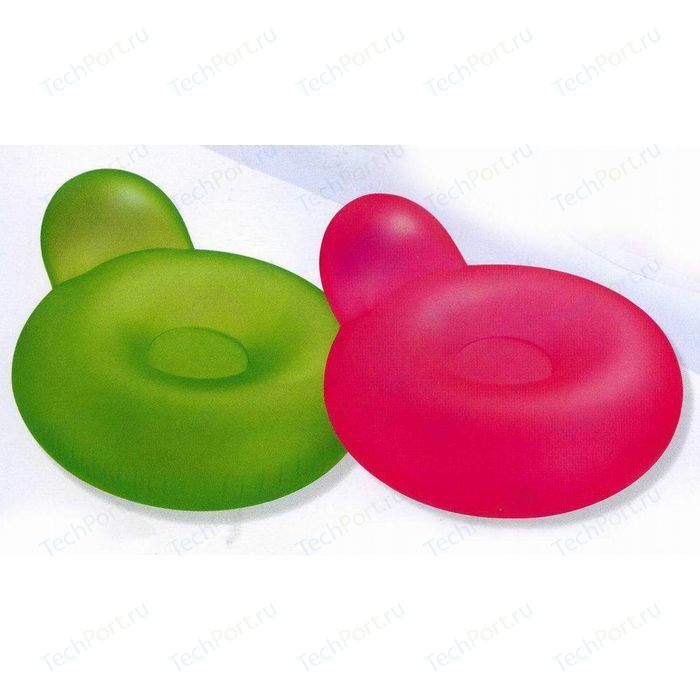 Кресло надувное Intex Pillow-Back Lounges 137х122 см int58889NP
