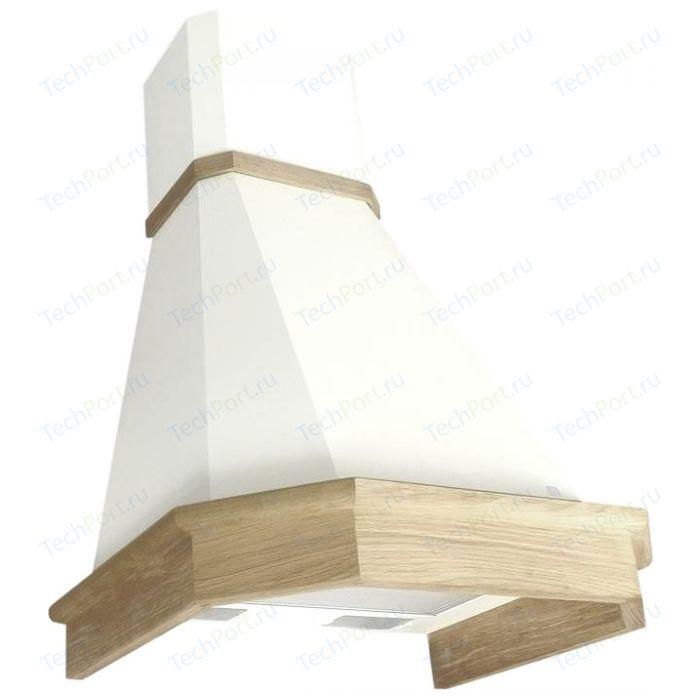 Вытяжка Elikor Камин Грань 60 (бежевый/дуб неокр) вытяжка elikor интегра 60 белый дуб неокр