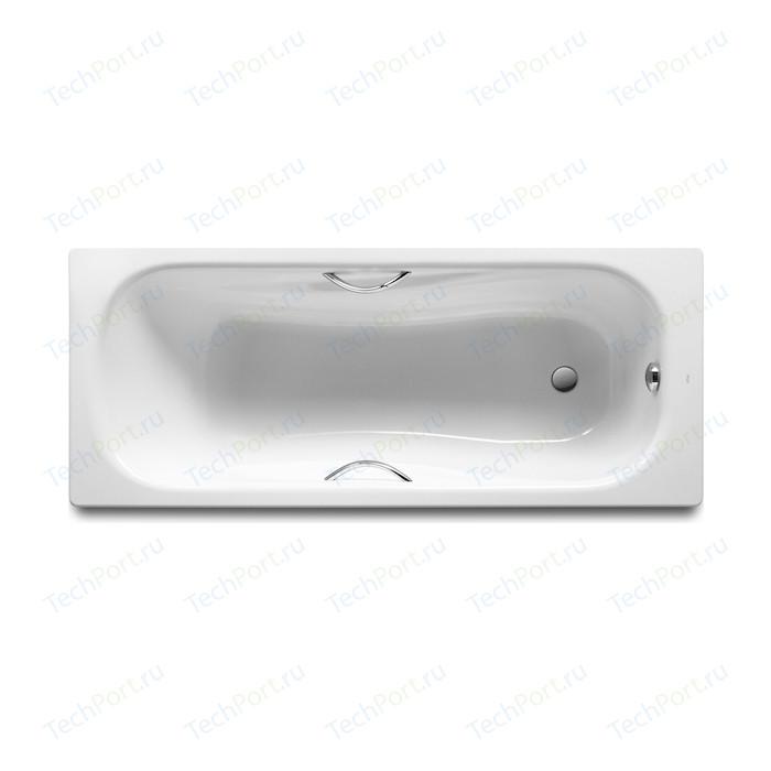 Ванна стальная Roca Princess 150x75 с отверстиями под ручки (2204E0000)