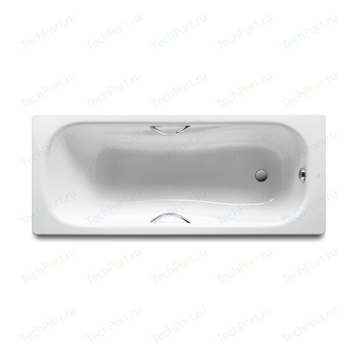 Ванна стальная Roca Princess 160x75 с отверстиями под ручки (2203E0000)