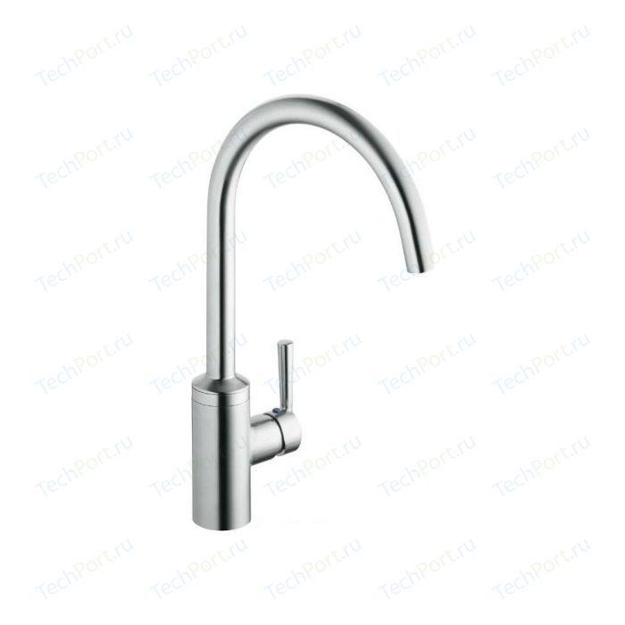 Смеситель для кухни Kludi Steel нержавеющая сталь (38850F660)