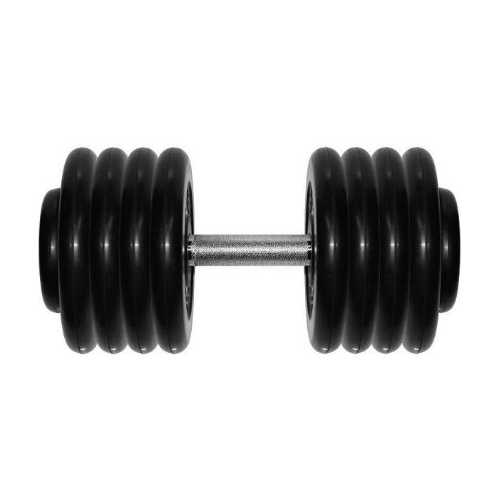 Гантель MB Barbell профессиональная Профи черная 43.5 кг