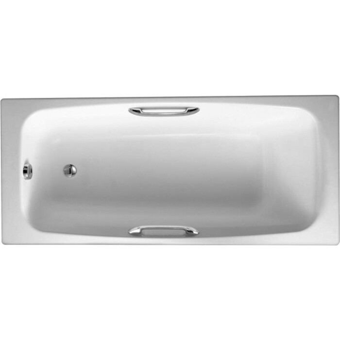 Чугунная ванна Jacob Delafon Diapason 170x75 с отверстиями для ручек (E2926-00)