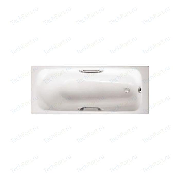 Чугунная ванна Jacob Delafon Melanie 170x70 с отверстиями для ручек (E2925-00)