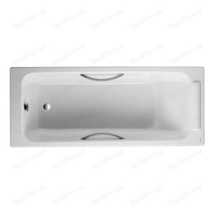 Чугунная ванна Jacob Delafon Parallel 170x70 с отверстиями для ручек (E2948-00)