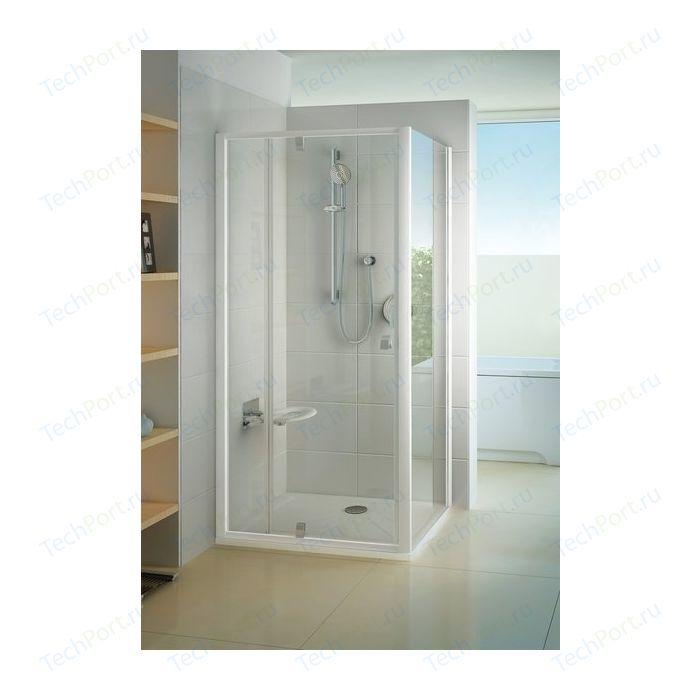 Душевая стенка Ravak Pivot PPS 100х190 см, стекло прозрачное, профиль белый (90GA0100Z1)