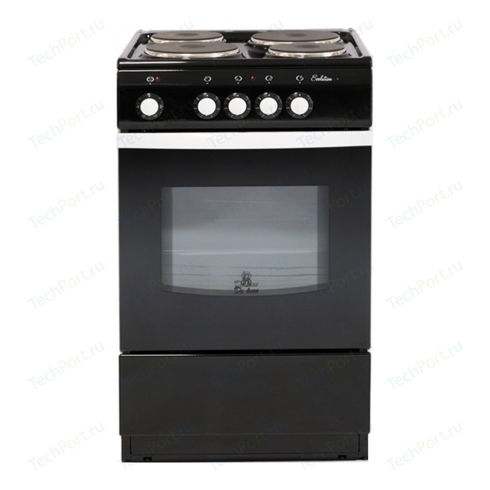 Электрическая плита DeLuxe 5004.12 э (чёрная)