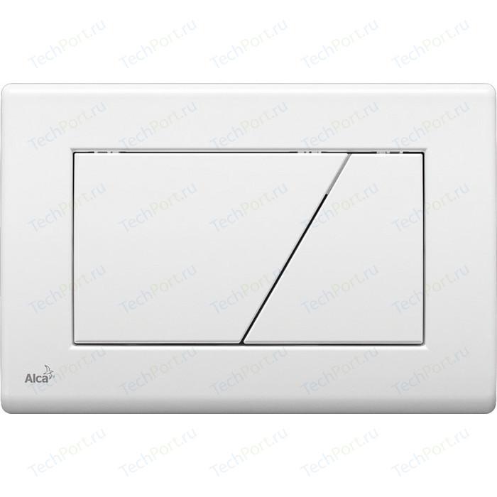 Кнопка смыва AlcaPlast белая (M170)