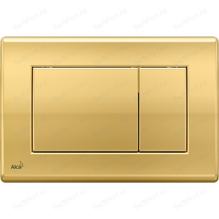 Кнопка смыва AlcaPlast золотая (M275)
