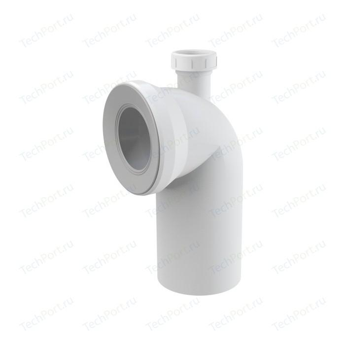 Отвод для унитаза AlcaPlast 90° с присоединением на D40 (A90-90P40)