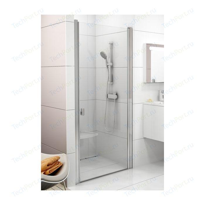 Душевая дверь Ravak Chrome CSD1 80 прозрачная, хром (0QV40C00Z1)
