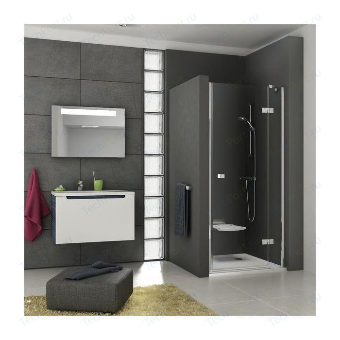 Душевая дверь Ravak SmartLine SMSD2 100 B L прозрачная, хром, левая (0SLABA00Z1)