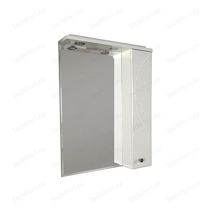 Фото - Зеркало-шкаф Акватон Лиана 60 правый (1A162702LL01R) зеркало 60х85 см акватон лиана 1a162602ll010