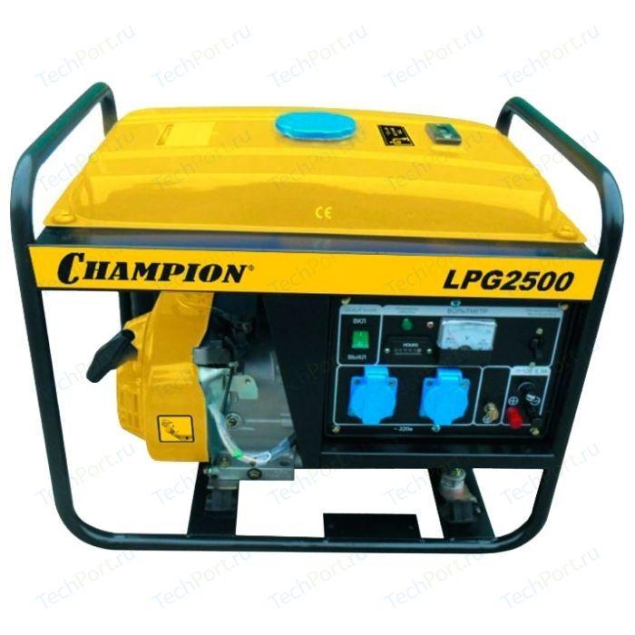 Генератор бензиново-газовый Champion LPG2500