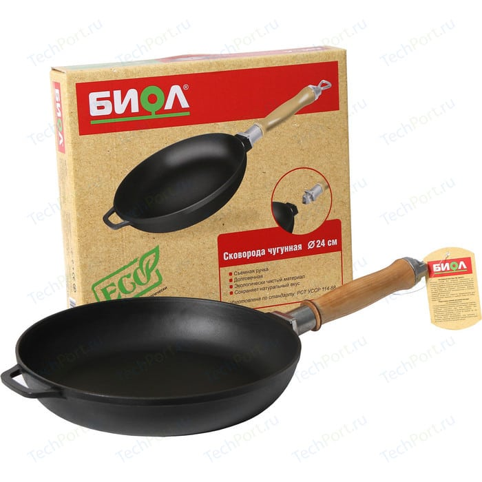 Сковорода Биол d 26см Eco (0126)