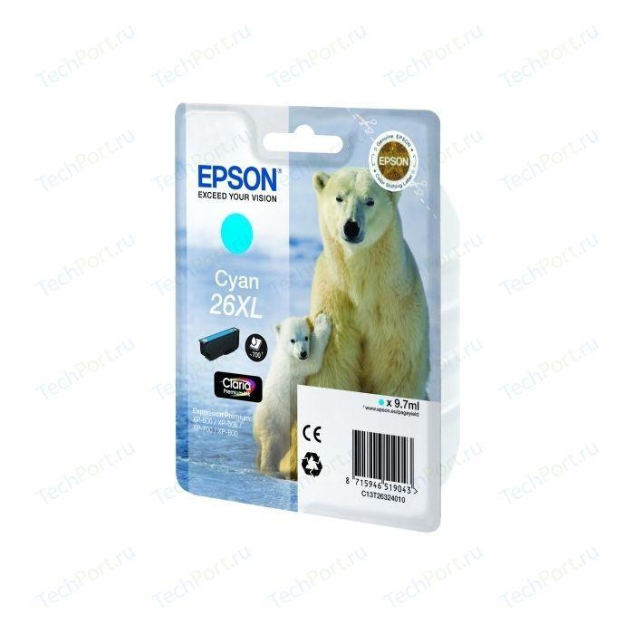 Картридж Epson C13T26324012