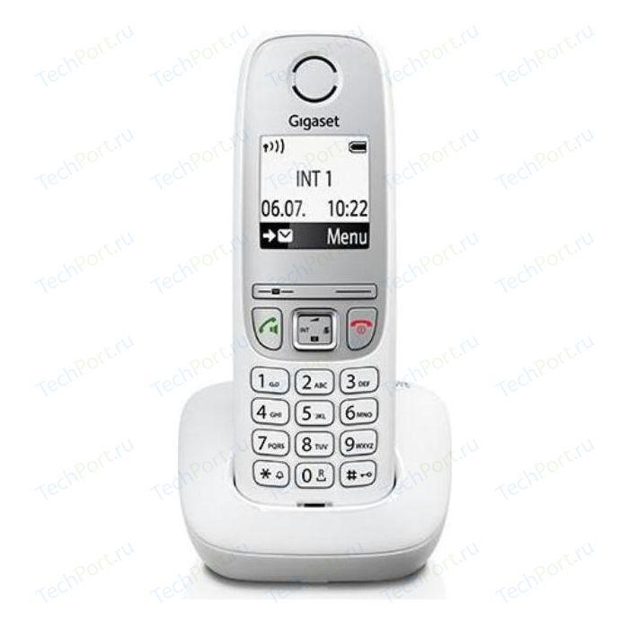 Фото - Радиотелефон Gigaset A415 белый радиотелефон dect gigaset a415 черный