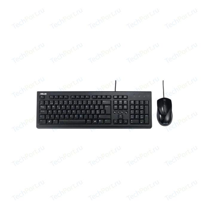 Комплект Asus U2000 черный USB тонкая (90-XB1000KM00050)