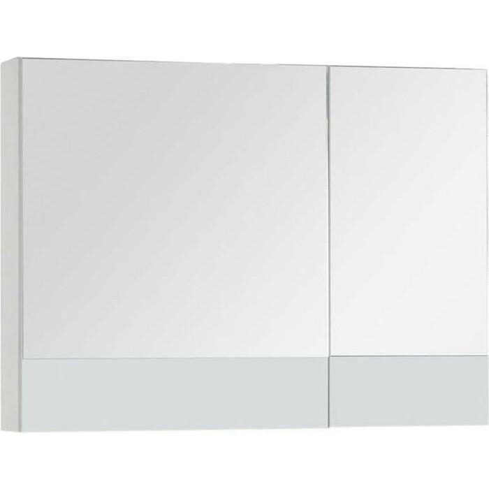 Зеркальный шкаф Aquanet Верона 90 белый (172339)