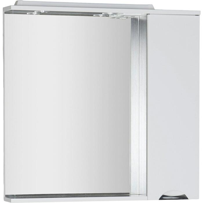 Зеркало-шкаф Aquanet Гретта 90 венге/белый (173993)