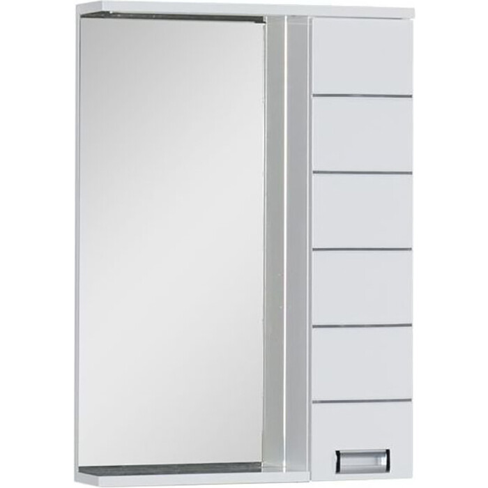 Зеркало-шкаф Aquanet Доминика 60 LED белый (171918)