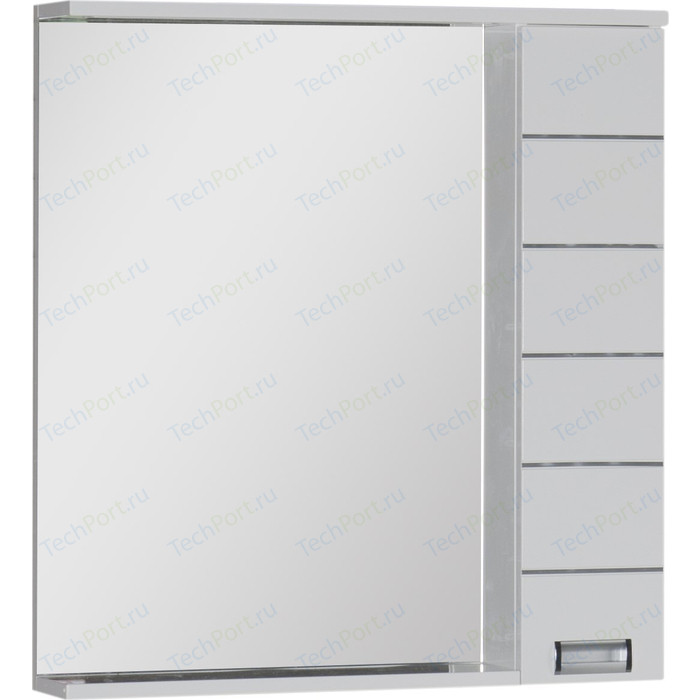 Зеркало-шкаф Aquanet Доминика 80 LED белый (171081)