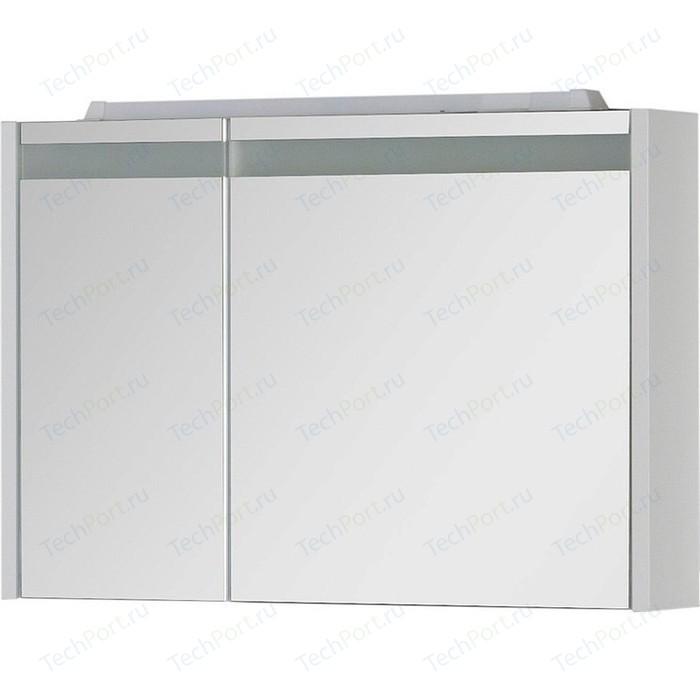 Зеркальный шкаф Aquanet Лайн 90 R белый (164934)