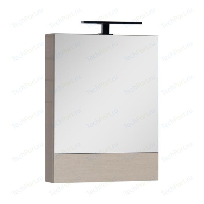 Зеркальный шкаф Aquanet Нота 50 светлый дуб (172681)