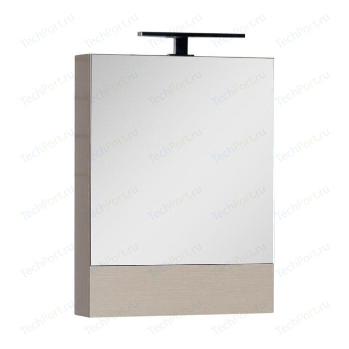 Зеркальный шкаф Aquanet Нота 58 светлый дуб (158856)