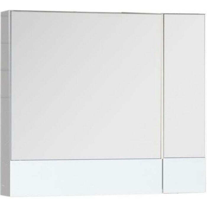 Зеркальный шкаф Aquanet Нота 75 белый (165130)