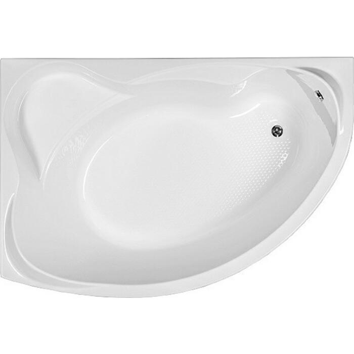Акриловая ванна Aquanet Jamaica 160x100 L левая, с каркасом, без гидромассажа (205486)