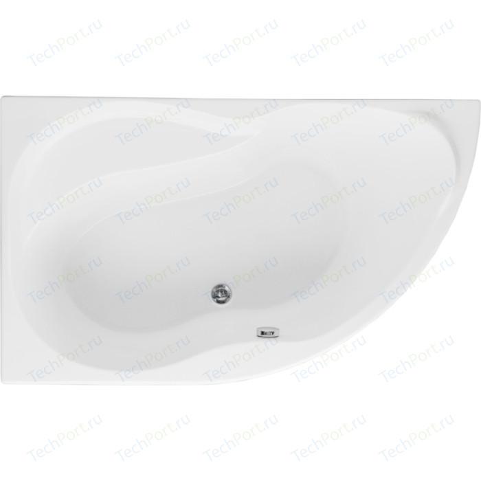 Акриловая ванна Aquanet Graciosa 150x90 L левая, с каркасом, без гидромассажа (205325)