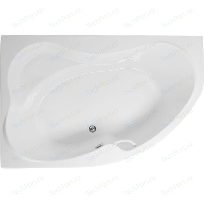 Акриловая ванна Aquanet Capri 170x110 L левая, с каркасом, без гидромассажа (205345)