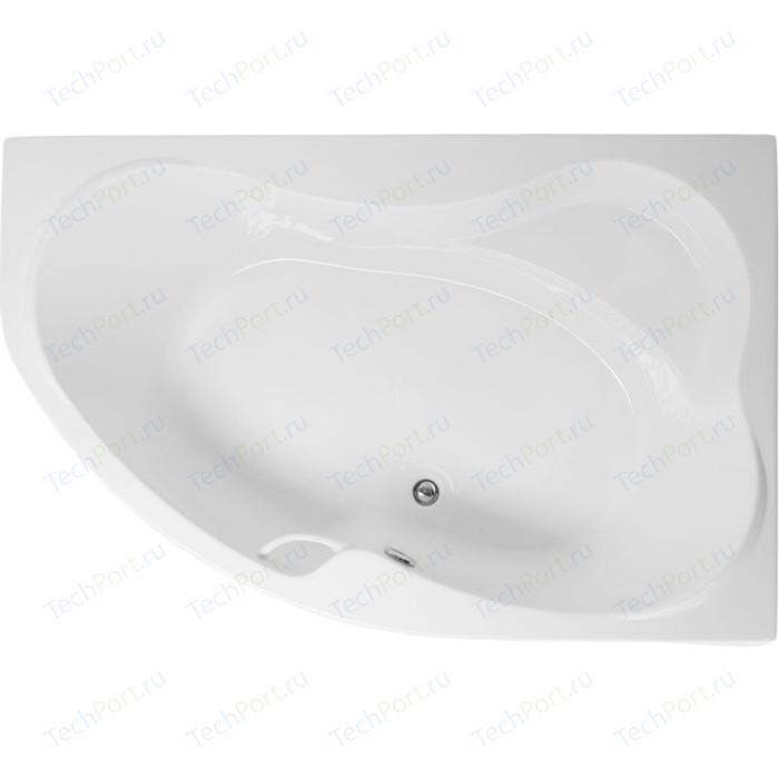 Акриловая ванна Aquanet Capri 170x110 R правая, с каркасом, без гидромассажа (205387) акриловая ванна aquanet mayorca 150x100 r правая с каркасом без гидромассажа 205438