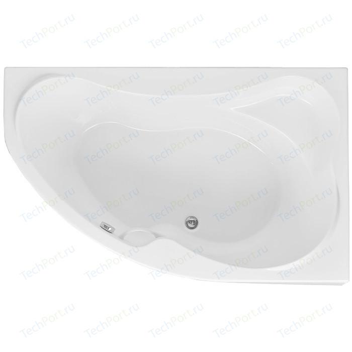 Акриловая ванна Aquanet Capri 160x100 R правая, с каркасом, без гидромассажа (205386)