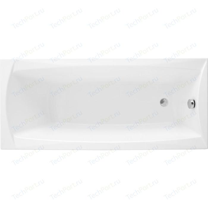 Акриловая ванна Aquanet Cariba 170x75 с каркасом, без гидромассажа (205350)