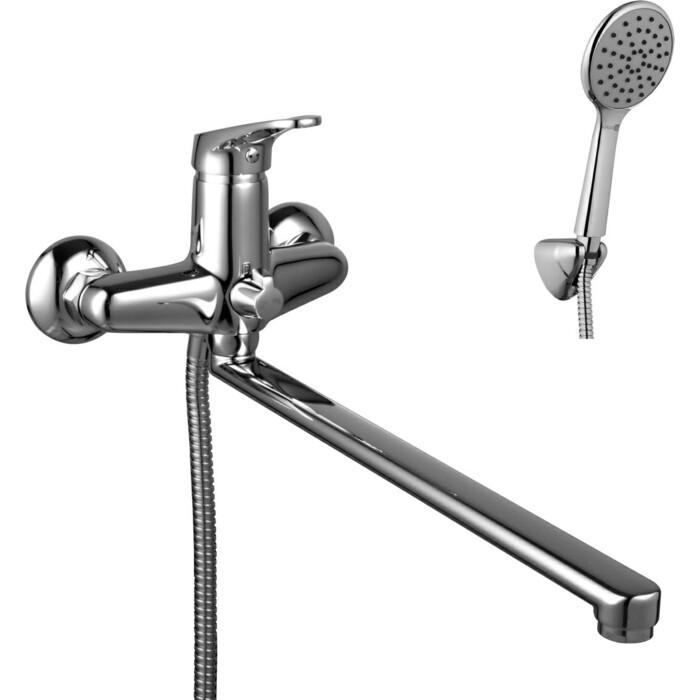 Смеситель для ванны Lemark Omega (LM3151C) argo смеситель для ванны и умывальника omega 1 2 керамический картриджный плоский излив 325 мм