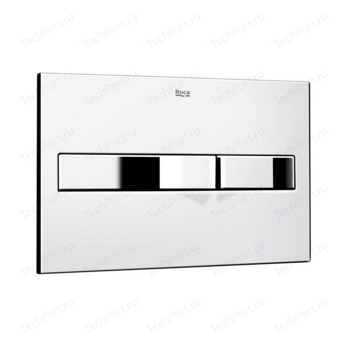 Кнопка смыва Roca PL2 Dual хром (890096001)