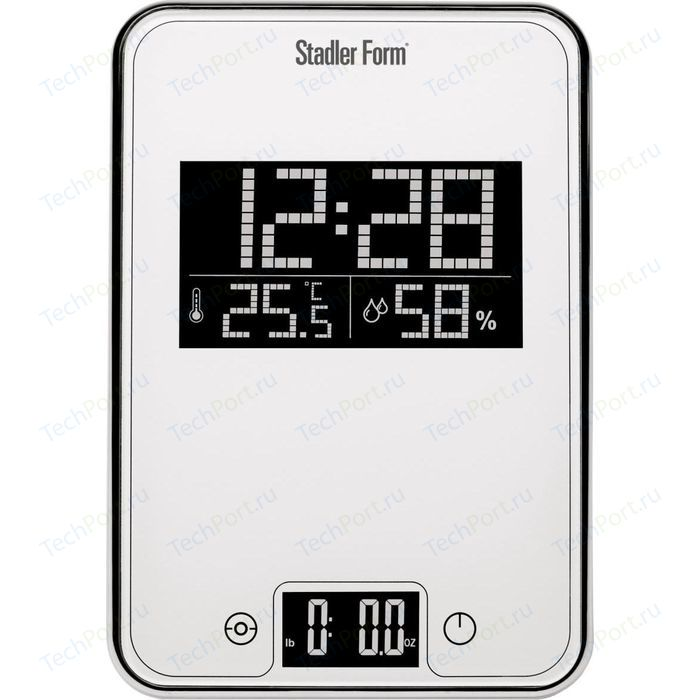 Весы кухонные Stadler Form SFL.0011 Scale One White
